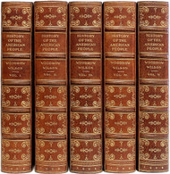 WILSON, Woodrow. A History of the American People. (FIRST EDITION - 5 VOLUMES - 1902)