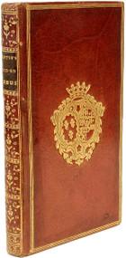 PIERRE-FRANCOIS, Muyart de Vouglans. Motifs de ma foi en Jesus-Christ: par un magistrat. (FIRST AND ONLY EDITION WITH THE GILT CREST OF THE WIFE OF LOUIS XVIII - 1776)