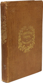 DICKENS, Charles. A Christmas Carol. In Prose. Being A Ghost Story of Christmas.  (THIRD EDITION - 1843)