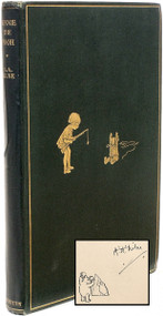 MILNE, A. A.. Winnie The Pooh.  (FOURTH EDITION SIGNED - 1927)