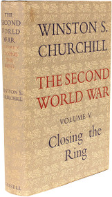CHURCHILL, Winston. The Second World War - Volume 5 - Closing The Ring. (FIRST EDITION - 1952) a