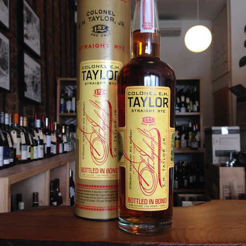 Colonel E.H Taylor Straight Rye Whiskey