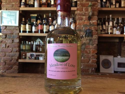 Delaware Phoenix Distillery, Meadow of Love Absinthe, 750ML