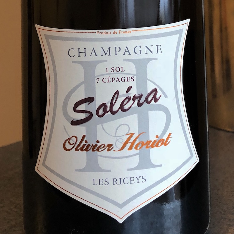 Olivier Horiot, Champagne Soléra (NV)