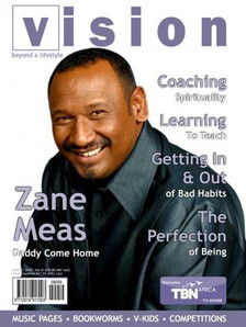Vision Magazine Cover March 2010