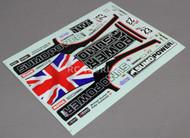 RC Car Truck RACING Drift DECALS Stickers SUMO POWER Nissan GTR Logos Sponsors