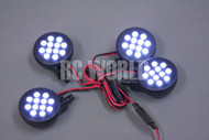RC 1/8 1/5 Buggy Truggy Car Truck POWERFUL LED LIGHT HEADLIGHT -NEW-