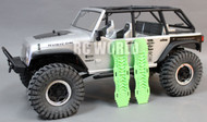 AXIAL SCX10 Jeep Honcho Deadbolt Scale RECOVERY RAMPS Extraction LADDER Green