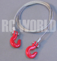 RC 1/10 Scale Truck Accessories STEEL LINE TOW HOOKS