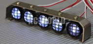 New RC Scale Accessories All Metal LIGHT BAR WITH L.E.D LED LIGHTS