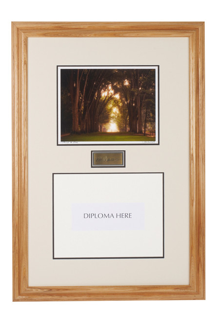 Diploma Frame with The Elm Trees, Penn State
