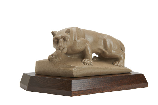 Penn State Elms Collection Official Nittany Lion Statue On Elm Wood Base The Penn State Elms