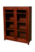 The Penn State Elms Collection Elm's Glass Display Bookcase