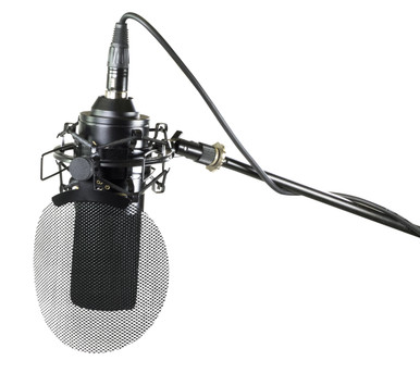 MXL 770 X with shockmount , cable and popfilter
