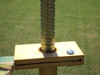 Turf-Tec Soil Penetrometer- Top measurement scale close up - Lines are percentages - 0 = In-compacted sand / 10 = 100% or cement