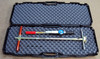 Turf-Tec Shear Strength Tester (Shear Vane) - Unit shown in hard protective case (Included)