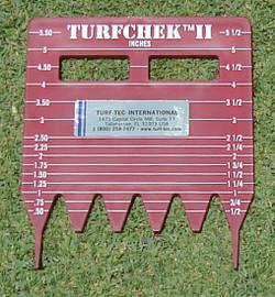 Turf-Tec TurfChek II - Rough Grass Height Cut Gauge