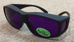 NASA Turf Stress Detection Over Glasses - For looking at stressed plants and turf with prescription glasses on - With Case