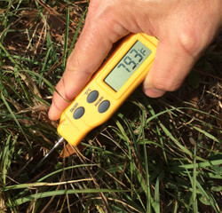 Turf-Tec Digital Pocket Thermometer Fahrenheit - and - Centigrade Model