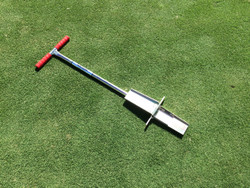 """MPS2-S Heavy Duty Mascaro Profile Sampler - Overall Height 38 inches tall - Soil Profile size - 7"""" x 3"""" x 1/2 inch thick"""
