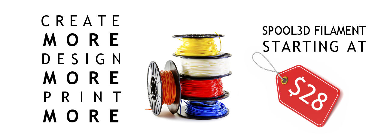 Buy 3D printer filament in Canada at low prices online.