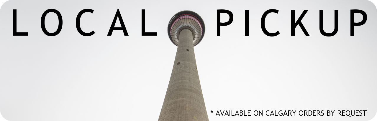 Local pickup available in Calgary.