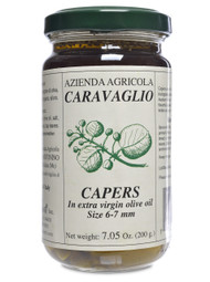 Capers in Olive Oil and Oregano