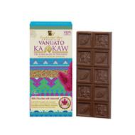 Mexican Gourmet Milk Chocolateand Amaranth By Vanuatu Kakaw 100 Milk Chocolate Vanilla, soy lecithin and sugar Amaranth 7%