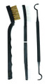 Allen 706 Gun Cleaning Brushes & - Tool 3Pc Set - 706