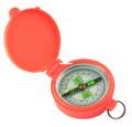 Allen 487 Pocket Compass W/Lid - Orange - 487