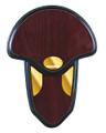 Allen 566 Turkey Tail Mounting Kit - Hardwood Plaque - 566