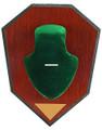 Allen 562 Antler Mounting Kit, Wood - Grain Plaque, Green Skull Cover - 562