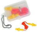 Allen 2293 Ear Plug Deluxe w/Cord - In Case - 2293
