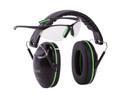 Allen 2325 Gamma Junior Shooting - Muff & Glasses Combo Blk/Neon Green - 2325