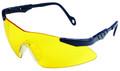 Allen 2272 Rangemaster Shooting - Glasses Adult Yellow Lens/Grey Frame - 2272