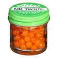 Atlas 75053 Mr Trout Sugar Cured - Eggs Orange 1oz - 75053