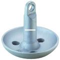 Attwood 9942B1 Mushroom Anchor 10Lb - Blk PVC Coated - 9942B1