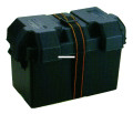 Attwood 9067-1 Battery Bx-27 Series - Blk Vented W/Hardware & Clamps - 9067-1