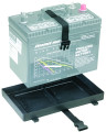 Attwood 9093-5 Battery Tray 27 - Series W/Buckle Strap - 9093-5
