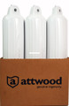 "Attwood 9356D1 Softside Oval Boat - Fender 6""x24"" White - 9356D1"