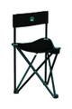 Barronett BC100 Black Folding Chair - 250Lb Weight Capacity - BC100