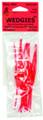 Beau-Mac WPS24FR Wedgies TP Rubber - Stops Fl Red - WPS24FR