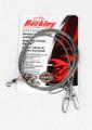 """Berkley 3W1845 Wire Wound Steelon - Leader 3Pack 18"""" 45# Bright - 3W1845"""