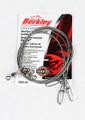 """Berkley 3W2445 Wire Wound Steelon - Leader 3Pack 24"""" 45# Bright - 3W2445"""