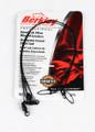 """Berkley 3W2445BL Wire Wound Steelon - Leader 3Pack 24"""" 45# Black - 3W2445BL"""