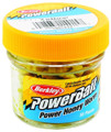 "Berkley EBPHWY PowerBait Power - Honey Worm, 1"", 55 per Jar Yellow - EBPHWY"