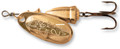 Blue Fox 60-00-200IC Classic Vibrax - Spinner, 7/64 oz, Plated Gold/Gold - 60-00-200IC