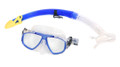 Calcutta BR57605 Mask & Snorkel Set - Sm/Med WideView 2Window Silicon - BR57605