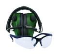 Caldwell 487309 E-Max Low Pro Elec - Muff w/ Shooting Glasses - 487309