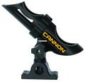 Cannon 2450169-1 Deck-Mount Rod - Holder, 3-Position, Black - 2450169-1